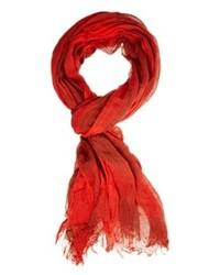Sciarpa di cotone rossa di Esprit