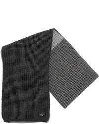Sciarpa di lana grigio scuro