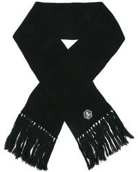 Sciarpa di lana nera di Philipp Plein