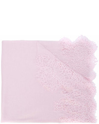Sciarpa di pizzo rosa di Ermanno Scervino