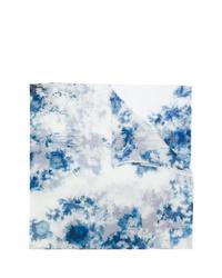 Sciarpa effetto tie-dye azzurra di Avant Toi