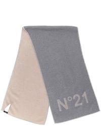 Sciarpa grigia di No.21