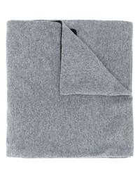 Sciarpa lavorata a maglia grigia di Moschino