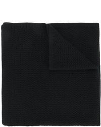 Sciarpa lavorata a maglia nera di Givenchy