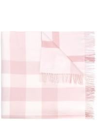 Sciarpa rosa di Burberry