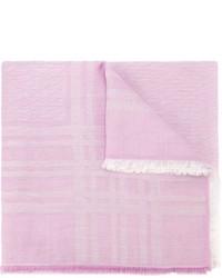 Sciarpa rosa di Fendi