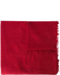 Sciarpa rossa di Ann Demeulemeester