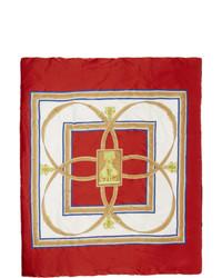 Sciarpa rossa di Burberry