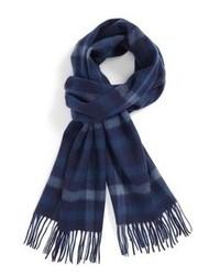 Sciarpa scozzese blu scuro