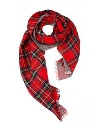ultimo design codice promozionale prezzi Sciarpe scozzesi rosse da donna | Moda donna | Lookastic