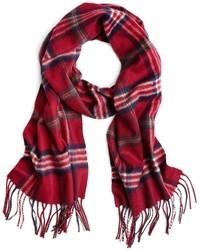 Sciarpa scozzese rossa
