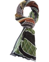 Sciarpa stampata multicolore