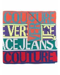 Sciarpa stampata multicolore di VERSACE JEANS COUTURE