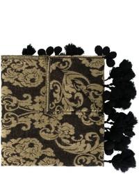 Sciarpa stampata nera di Twin-Set