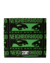 Sciarpa stampata verde scuro di Perks And Mini