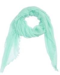 Sciarpa verde menta