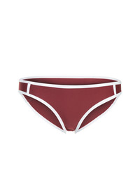 Slip bikini bordeaux di Duskii
