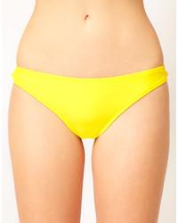 Slip bikini gialli