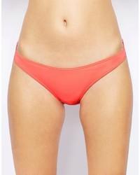 Slip bikini in rete rosa di French Connection