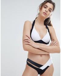 Slip bikini neri e bianchi di Amy Lynn