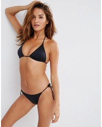 Slip bikini neri di Asos