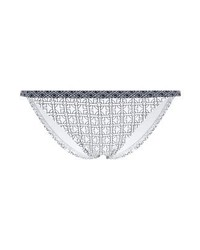 Slip bikini stampati bianchi di Michael Kors