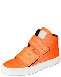 Sneakers alte arancioni
