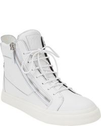 Sneakers alte bianche