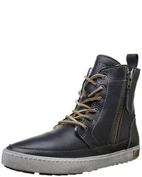 Sneakers alte blu scuro di Blackstone