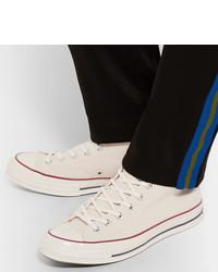 Sneakers alte di tela bianche di Converse, €80   MR PORTER