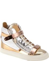 Sneakers alte dorate