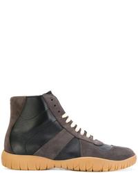 Sneakers alte grigio scuro