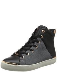 Sneakers alte grigio scuro di Ted Baker
