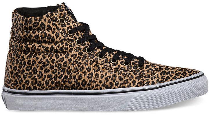 2vans nere e leopardate