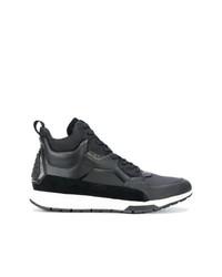 Sneakers alte in pelle nere di Calvin Klein