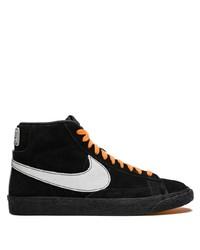 Sneakers alte in pelle scamosciata nere da uomo   Outfit