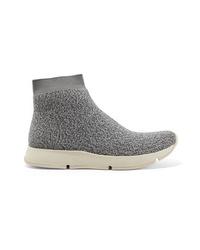 Sneakers alte pesanti grigie di Vince