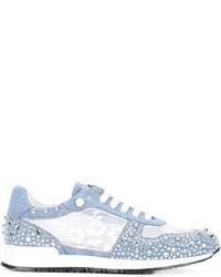 Sneakers azzurre di Philipp Plein