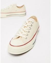 Sneakers basse beige di Converse