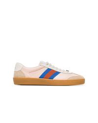Sneakers basse beige di Gucci