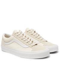 Sneakers basse beige di Vans