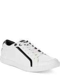 Sneakers basse bianche e nere
