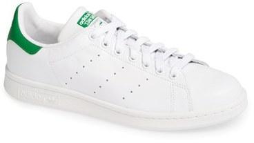 adidas bianche e verdi basse