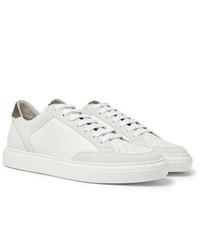 Sneakers basse bianche di Brunello Cucinelli