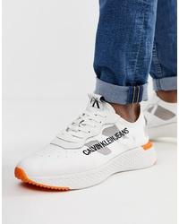 Sneakers basse bianche di Calvin Klein