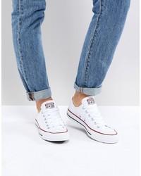 Sneakers basse bianche di Converse