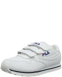 Sneakers basse bianche di Fila