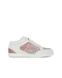 Sneakers basse bianche di Jimmy Choo