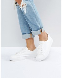 Sneakers basse bianche di New Look
