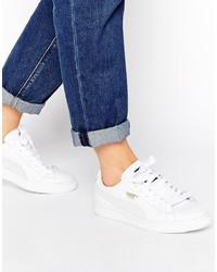 Sneakers basse bianche di Puma